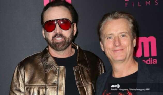 Nicolas Cage junto a Linus Roache