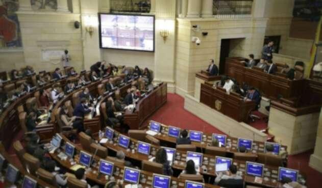 Audiencia publica sobre las objeciones a la JEP llevada acabo en el Congreso de la República.