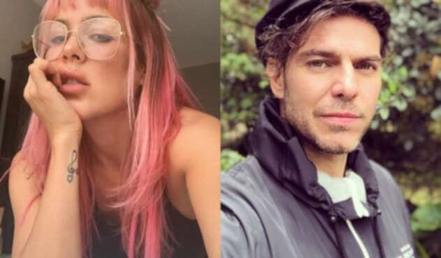 La modelo y el actor compartieron en una fotografía y recordaron detalles del pasado.