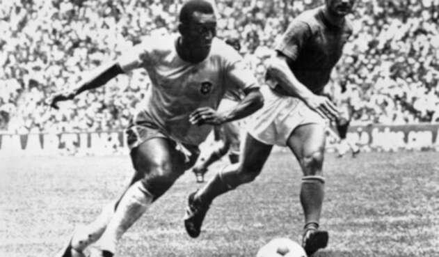 Pelé en el Mundial de México 1970