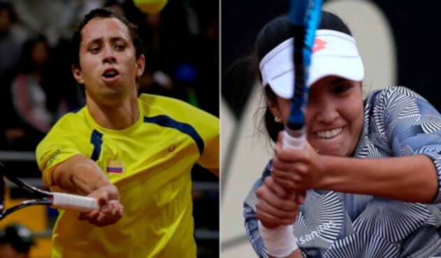 Daniel Galán y María Camila Osorio