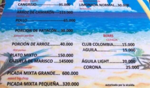 La carta que generó polémica en Cartagena