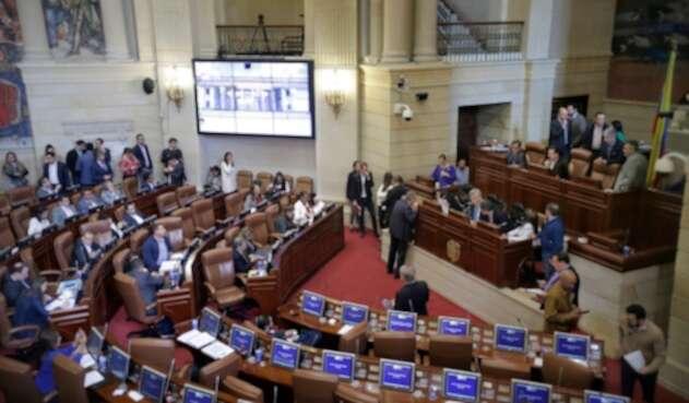 Debate en las comisiones económicas del Congreso de la República sobre el Plan Nacional de Desarrollo 'Pacto por Colombia, Pacto por la Equidad'
