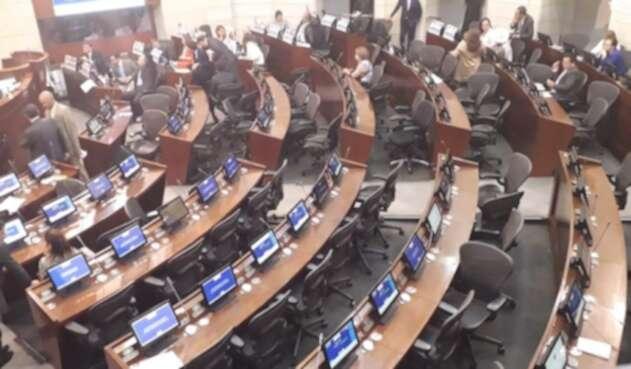 Plenaria del Senado de la República