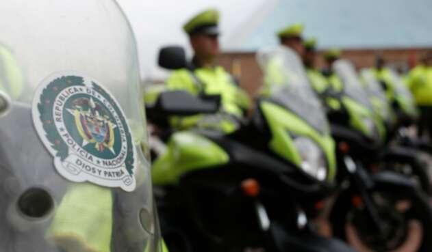 Policías de Tránsito en Bogotá