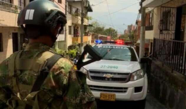 Homicidios en Medellín.