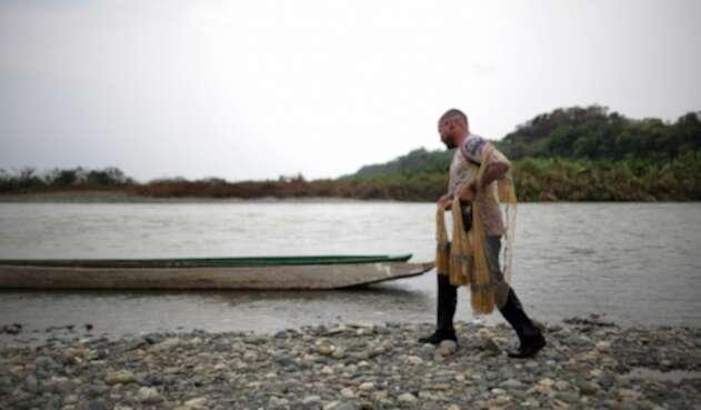 La vida en las laderas del Río Cauca cambió radicalmente una vez empezó la megaconstrucción de Hidroituango. Los pescadores fueron los más afectados