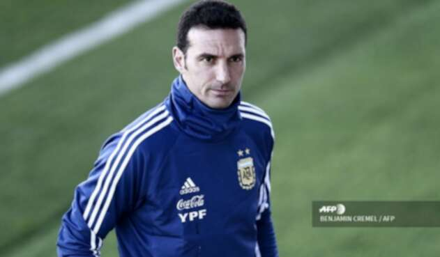 Lionel Scaloni sufrió accidente de tránsito