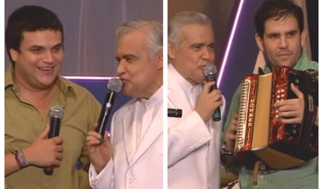 Silvestre Dangond y Juancho de la Espriella