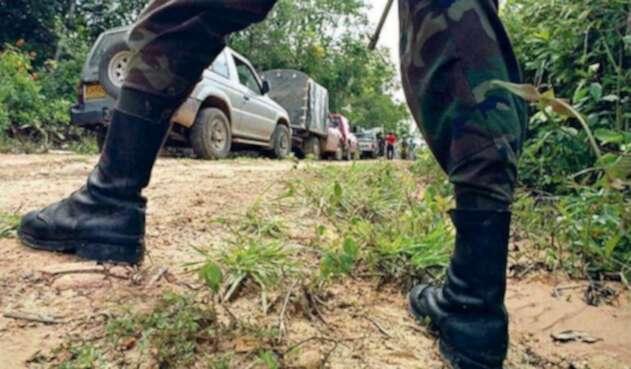 Soldado resultó herido con una mina antipersona en Arauca