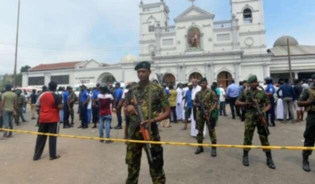 156 muertos por explosiones en iglesias y hoteles de Sri Lanka