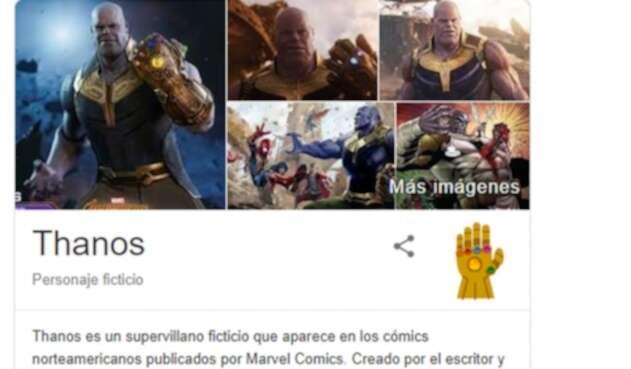El personaje causó furor en Google