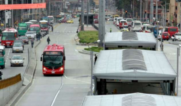 Panorámica de la ciudad de Bogotá