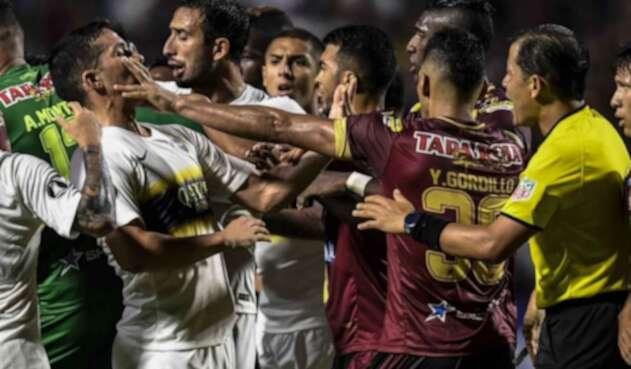 Deportes Tolima no pudo con Boca Juniors