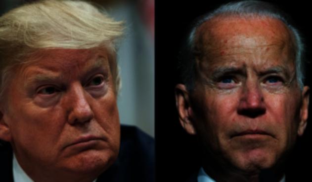Trump inicia campaña contra Joe Biden