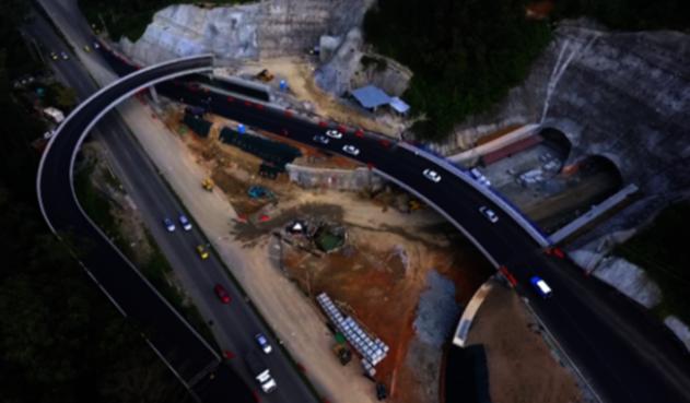 Suspenden la inauguración del Túnel de Oriente en Antioquia por filtraciones en la obra