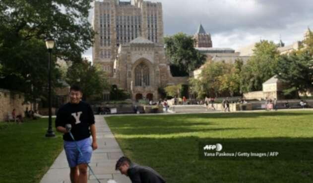 Estudiantes de la Universidad de Yale