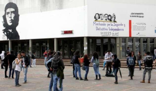 La Universidad Nacional, en Bogotá