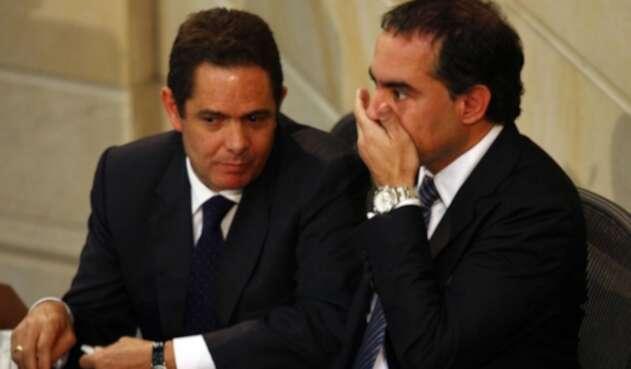 Germán Vargas Lleras y Armando Benedetti.