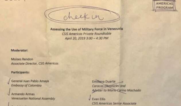 Los documentos publicados por el periodista Max Blumenthal