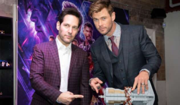 Ant-Man (Paul Rudd) y Thor (Chris Hemsworth)