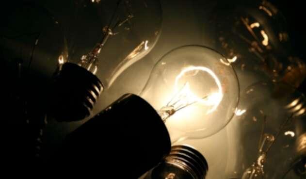 Imagen de cortes de luz en Bogotá