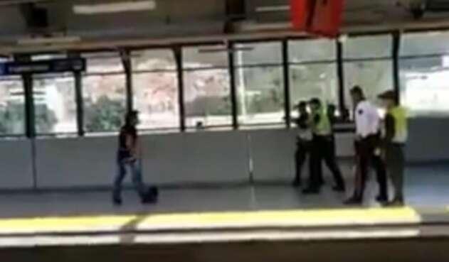 Ataque en el Metro de Medellín