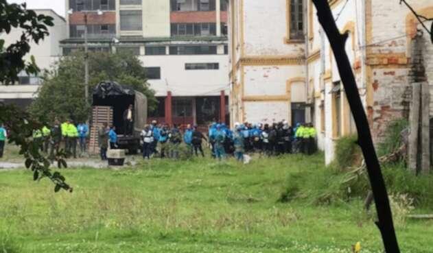 Desalojo del hospital San Juan de Dios