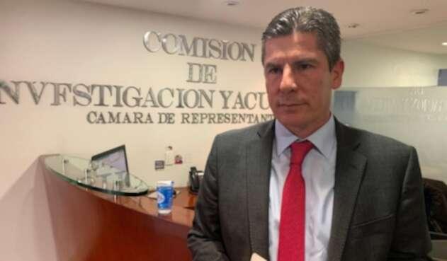 Presidente de la Comisión de Acusación de la Cámara, Ricardo Ferro.
