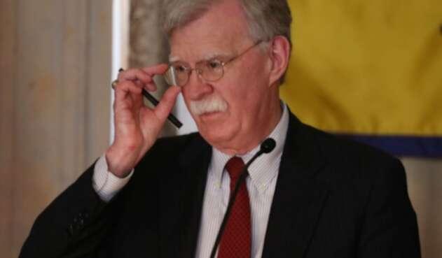 Secretario de seguridad nacional de Estados Unidos, John Bolton