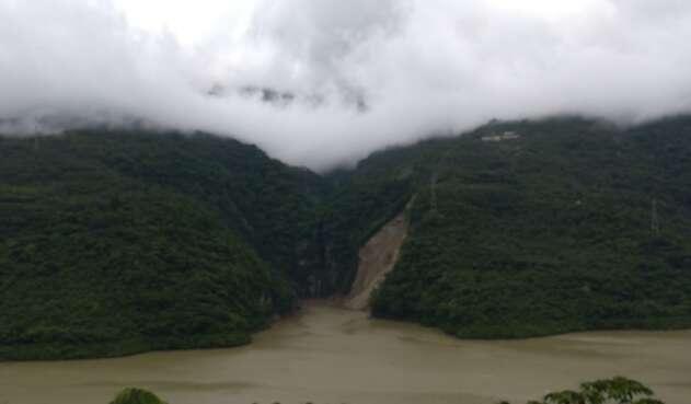 Nuevo deslizamiento Hidroituango
