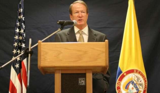 William Brownfield, exembajador de Estados Unidos en Venezuela y Colombia.