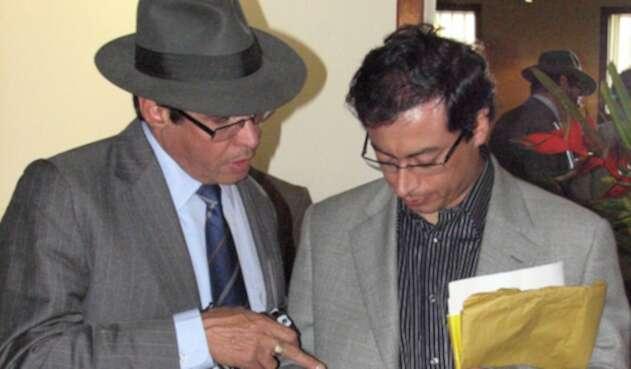 Wilson Borja y Gustavo Petro, excompañeros en el Polo Democrático