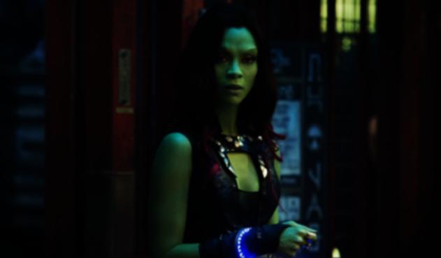 Zoe Saldana, Gamora