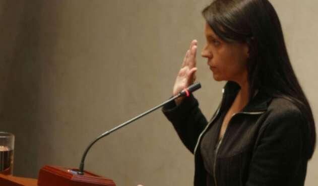 Zulema Jattin Corrales, exrepresentante a la Cámara por el departamento de Córdoba
