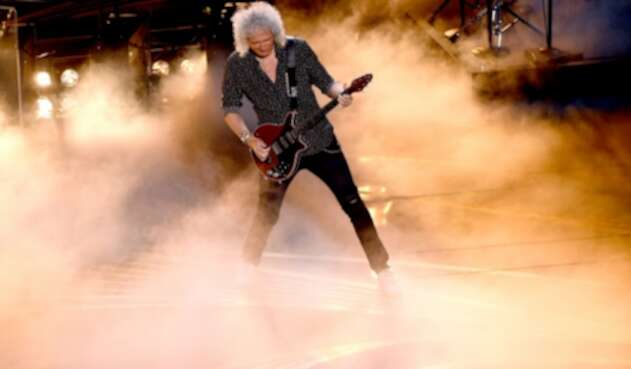 Brian May, legendario guitarrista de Queen