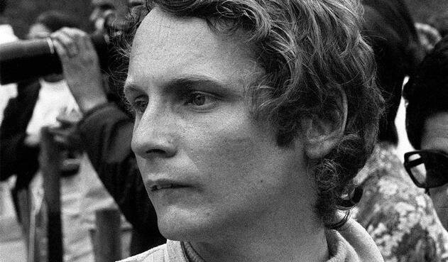 Foto fechada el 26 de junio de 1972 con la imagen del austriaco Niki Lauda.