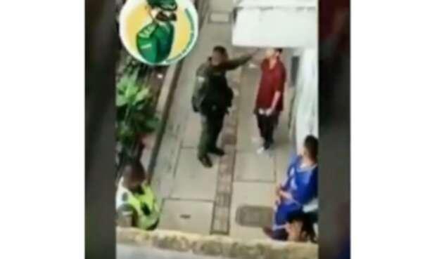 Investigan este supuesto abuso de autoridad en Medellín