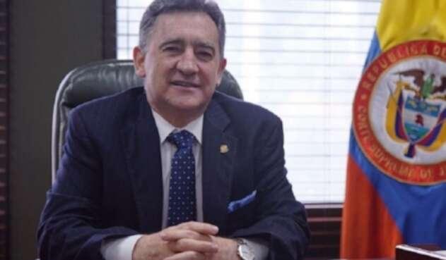 Álvaro Fernando García Restrepo, presidente de la Corte Suprema de Justicia