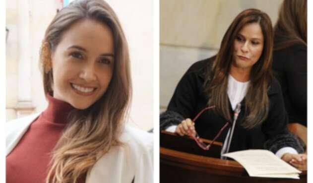 Ana María Castañeda y Maritza Martínez, congresistas
