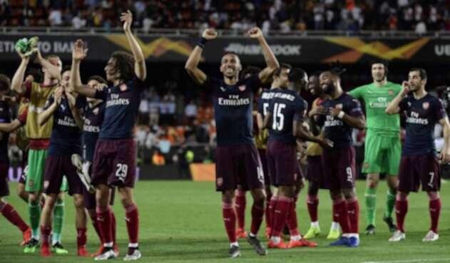 Arsenal aplastó al Valencia