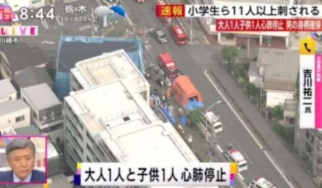 Tokio Japon arma blanca