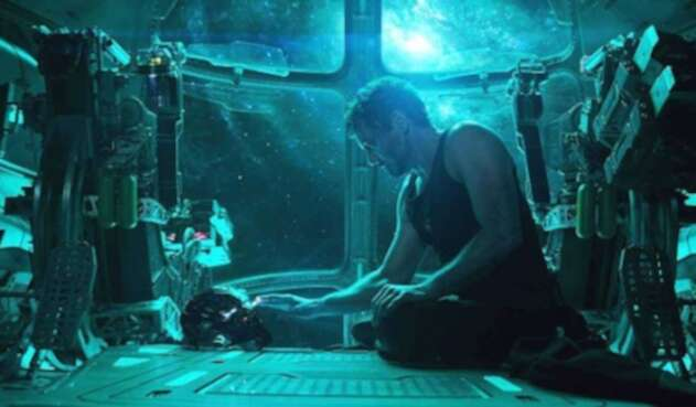 Robert Downey Jr. como Iron Man (Tony Stark) en Avengers: Endgame