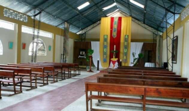 La iglesia de Bojayá, en Chocó