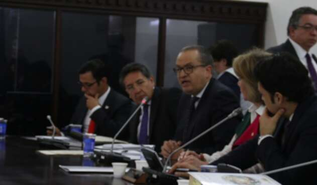 Fernando Carrillo y Néstor Humberto Martínez
