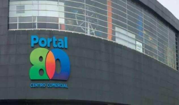 El Centro Comercial Portal 80, en Bogotá