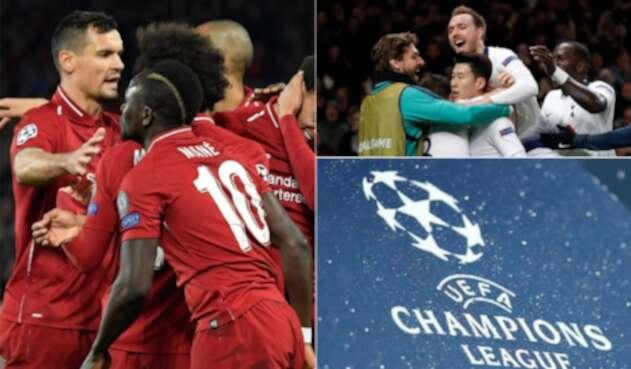 Liverpool y Tottenham deberán darle vuelta al resultado en la Champions League