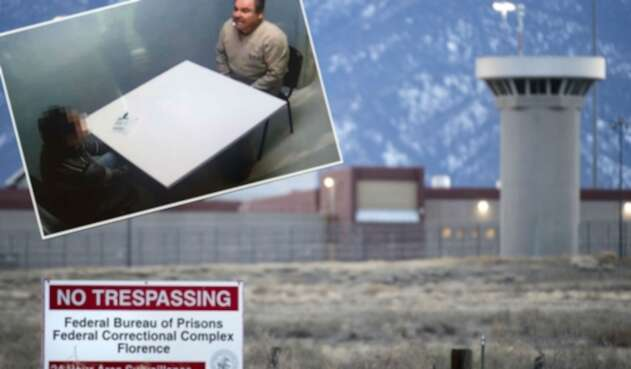 Chapo Guzmán recluido en cárcel de EE.UU.
