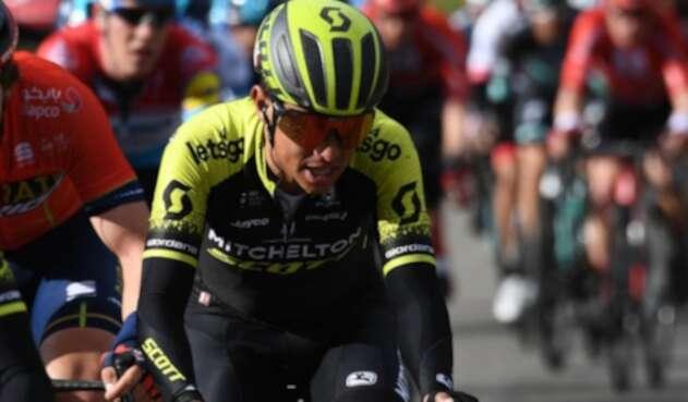 Esteban Chaves, en la etapa 19 del Giro de Italia
