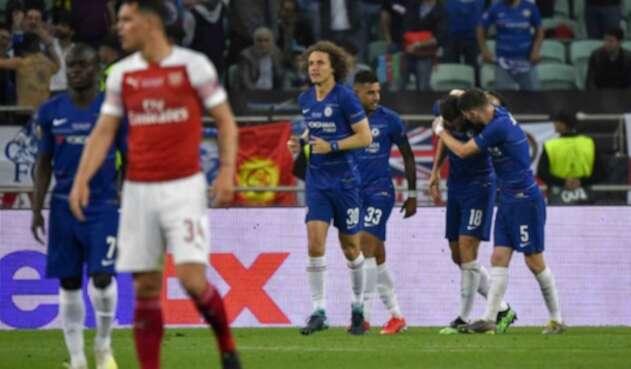 Chelsea celebrando